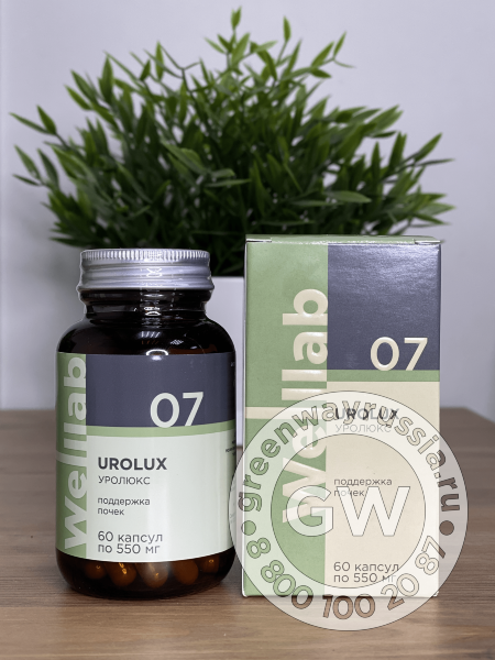 Welllab UROLUX, 60 капсул